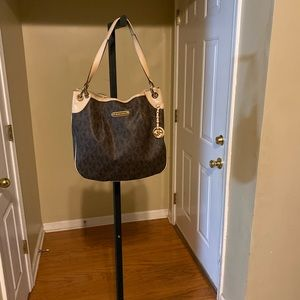 Brown MK purse